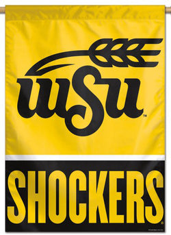 Wichita State University WSU Shockers NCAA Premium 28x40 Wall Banner - Wincraft Inc.