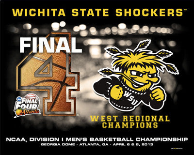Wichita State Shockers 2013 Final Four Commemorative Print - ProGraphs