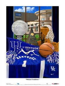 "Kentucky Wildcats Basketball ""Traditions"" - USA Sports Inc."