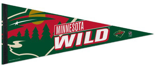 Minnesota Wild Official NHL Hockey Logo-Style Premium Felt Collector's Pennant - Wincraft