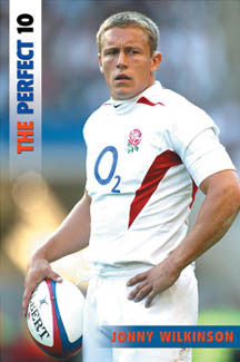 "Jonny Wilkinson ""Perfect Pose"" - UK 2004"