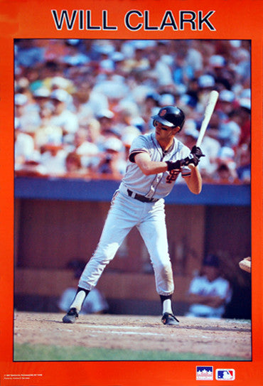 "Will Clark ""Giants Classic"" (1987) San Francisco Giants Poster - Starline Inc."