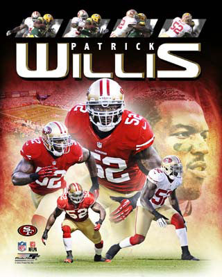 "Patrick Willis ""Domination"" San Francisco 49ers Premium Poster Print - Photofile 16x20"