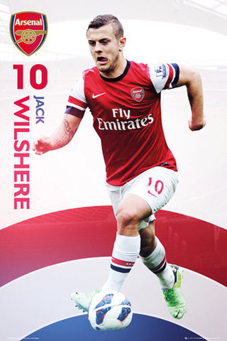 "Jack Wilshere ""Superstar"" Arsenal FC Action Poster - GB Eye (UK)"