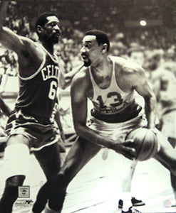 "Wilt Chamberlain vs. Bill Russell ""One-on-One"" (1966) Premium Poster Print - Photofile Inc."