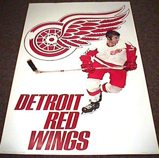 Detroit Red Wings 1973 Logo Art - Sportsgraphics Inc.