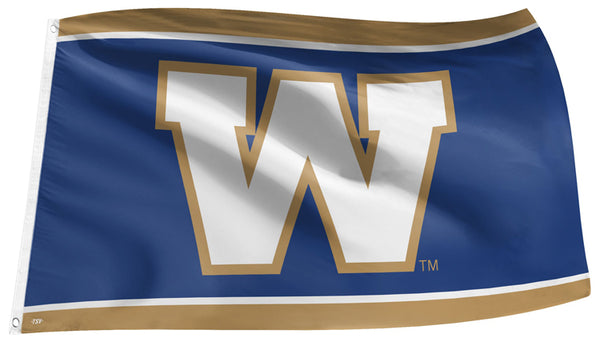 Winnipeg Blue Bombers CFL Football Official Team Banner 3'x5' FLAG - The Sports Vault
