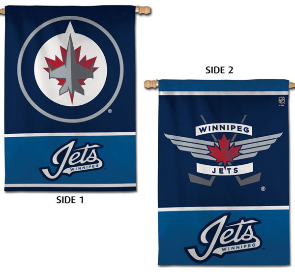 Winnipeg Jets Official NHL Hockey 2-Sided Vertical Flag Wall Banner - Wincraft Inc.