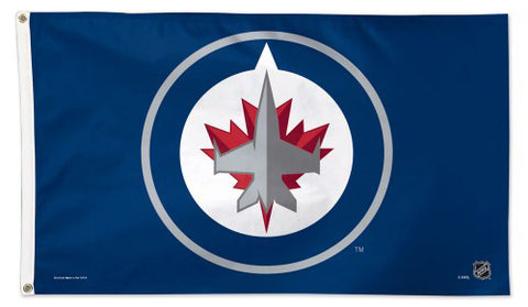 Winnipeg Jets Official NHL Hockey 3'x5' Deluxe-Edition Flag - Wincraft Inc