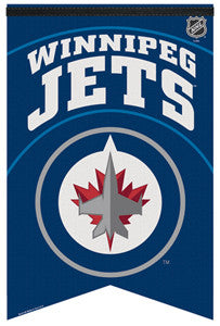 "Winnipeg Jets ""New-School"" 2011 Premium Felt Banner - Wincraft Inc."