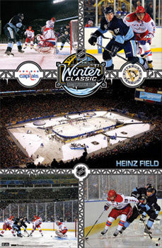 Winter Classic 2011 (Capitals vs. Penguins) Commemorative NHL Hockey Poster - Costacos Sports