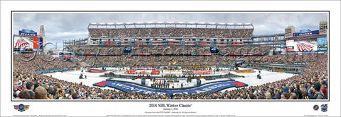 NHL Winter Classic 2016 (Canadiens vs. Bruins) Panoramic Poster Print - Everlasting Images
