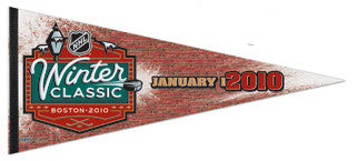 Winter Classic 2010 (Boston) EXTRA-LARGE Commemorative Pennant