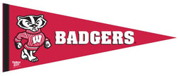 Wisconsin Badgers NCAA Team Logo Premium Felt Collector's Pennant - Wincraft Inc.