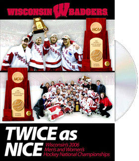 "DVD: ""Twice as Nice"" (Wisconsin Hockey 2006)"