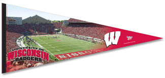 Wisconsin Badgers Football Gameday Oversized Premium Pennant