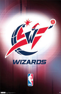 Washington Wizards Official NBA Team Logo Poster - Costacos Sports