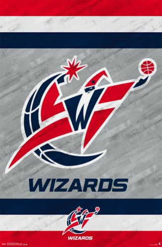 Washington Wizards NBA Basketball Official Team Logo Poster - Trends International