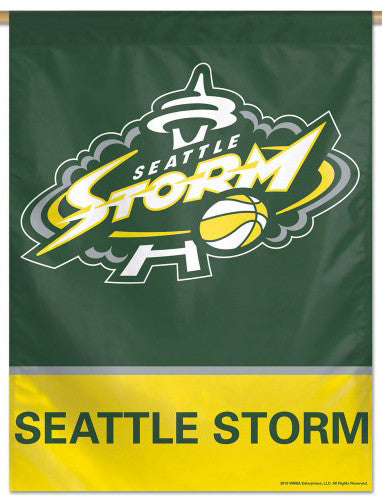 Seattle Storm Official WNBA Basketball Team Wall Banner - Wincraft Inc.