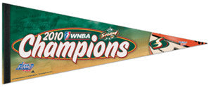 Seattle Storm 2010 WNBA Champs Premium Felt Collector's Pennant - Wincraft
