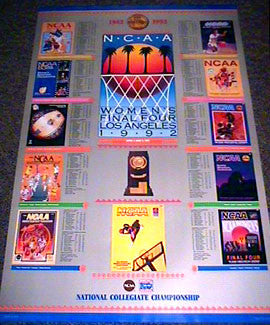 NCAA Women's Final Four (1992) Official Poster - Action Images