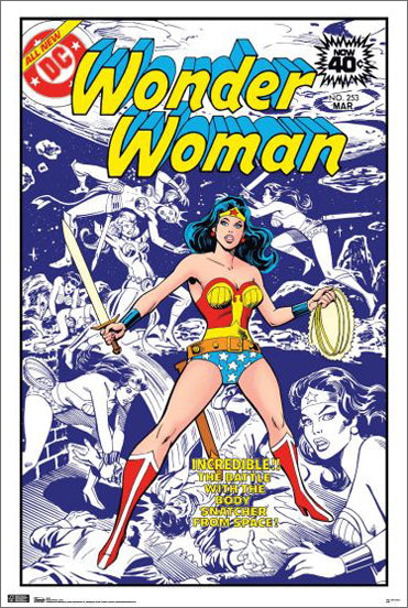 Wonder Woman #253 (March 1979) Official DC Comics Cover Poster - Trends International