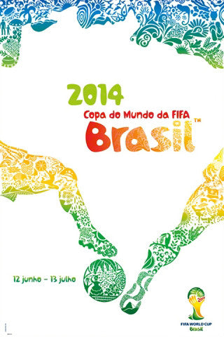 FIFA World Cup 2014 Brasil Official Poster (Portuguese Edition #0974))