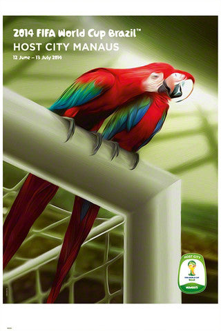 FIFA World Cup 2014 Official Venue Poster - Manaus (#0950)