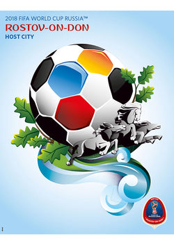 FIFA World Cup 2018 Russia Official Host City Poster (Rostov-On-Don) - Sports Endeavors