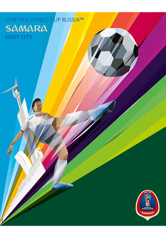 FIFA World Cup 2018 Russia Official Host City Poster (Samara) - Sports Endeavors
