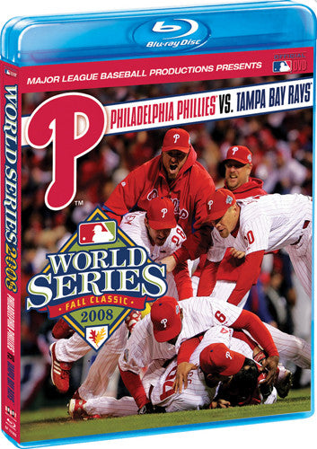 BLU-RAY DVD: World Series 2008 (Philadelphia Phillies vs. Tampa Bay Rays)