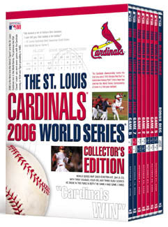 DVD SET: 2006 World Series, Collector's Edition