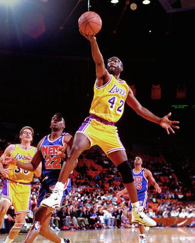 "James Worthy ""Showtime"" (c.1992) Los Angeles Lakers Premium Poster Print - Photofile Inc."