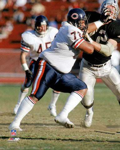 "William Perry ""Fear the Fridge"" (1987) Chicago Bears Premium Poster Print - Photofile Inc."