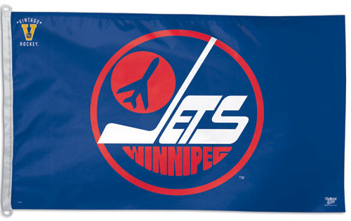 Winnipeg Jets Official NHL Vintage Collection 3'x5' Flag - Wincraft Inc.