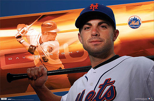 "David Wright ""DW"" New York Mets Poster - Costacos 2010"