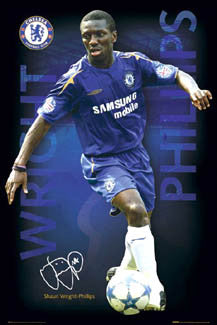 "Shaun Wright-Phillips ""Signature Series"" - GB Posters 2005"