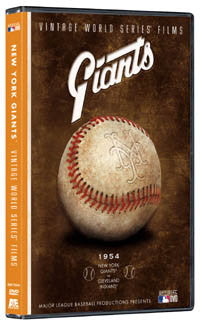 DVD: 1954 World Series Film (NY Giants vs Cleveland Indians)