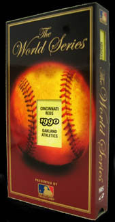 VHS: World Series 1990 (Reds 4, A's 0)