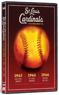 DVD: World Series 1943-1944-1946 (St. Louis Cardinals)