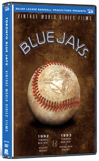 DVD: World Series Films 1992 & 1993 (Toronto Blue Jays vs. Braves, Phillies)
