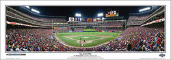 Texas Rangers Ballpark in Arlington 2010 World Series Panoramic Poster Print - Everlasting Images