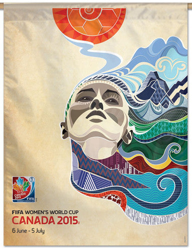 FIFA Women's World Cup 2015 Canada Official Event BANNER - Wincraft Inc.