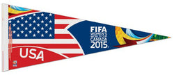 Team USA Women's World Cup 2015 Soccer Premium Felt Pennant - Wincraft