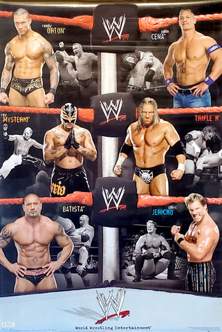 "WWE Wrestling ""Six Legends"" (2009) Superstars in Action Poster - Trends International"