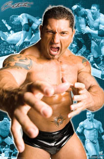 "Batista ""The Animal"" WWE Wrestling Poster - Trends International"