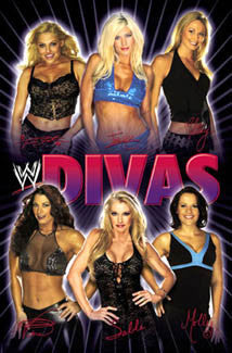 WWE Divas of Wrestling 2004 Poster - Trends International
