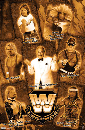 Mean Gene Okerlund's 1980s WWF Wrestling Legends Poster - TIL 2010
