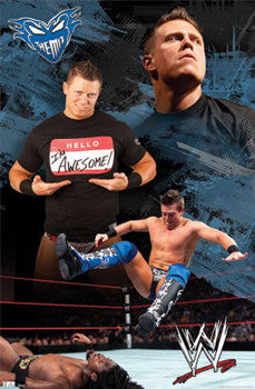 "Mike ""The Miz"" Mizanin WWE Superstar Poster - TIL Inc."
