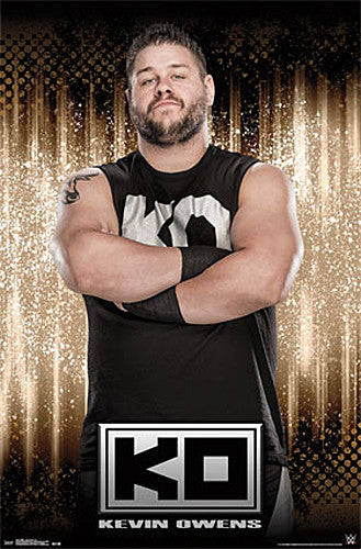 "Kevin Owens ""KO"" WWE Wrestling Superstar Poster - Trends International"